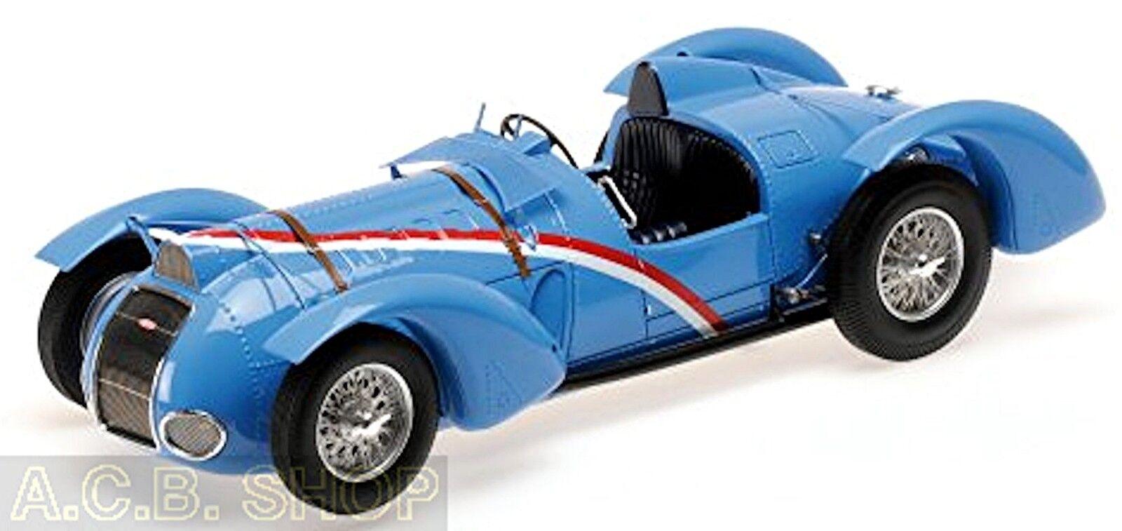 Delahaye type 145 v-12  grand prix 1937 Bleu bleu 1 18 Minichamps Mullin Ed. 7  marque célèbre