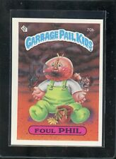 2014 Garbage Pail Kids Topps Chrome Series 2 Card #70B Foul Phil