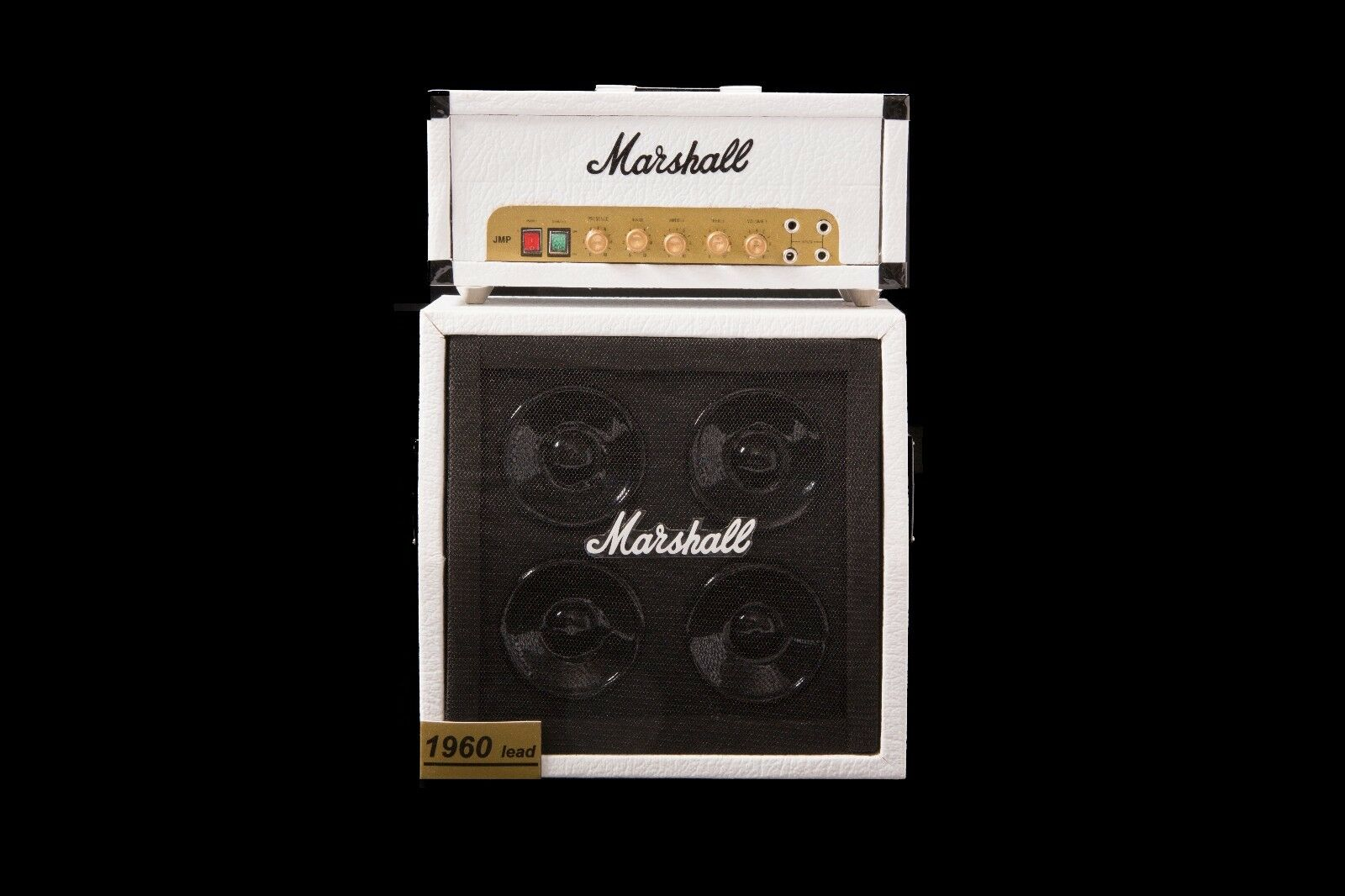 AXE HEAVEN Marshall-Style Speaker Cabinet Full Stack Amp MINIATURE DISPLAY GIFT