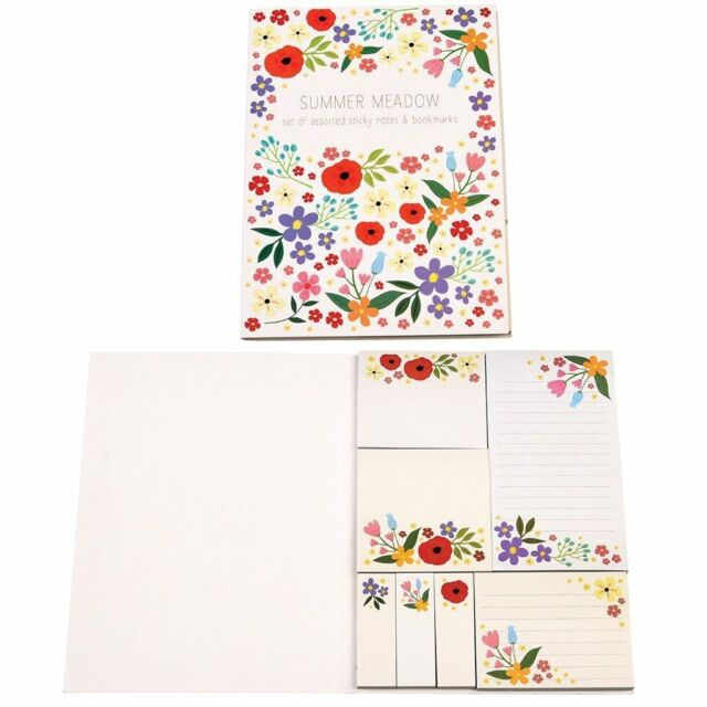 dotcomgiftshop SUMMER MEADOW STICKY MEMO PADS