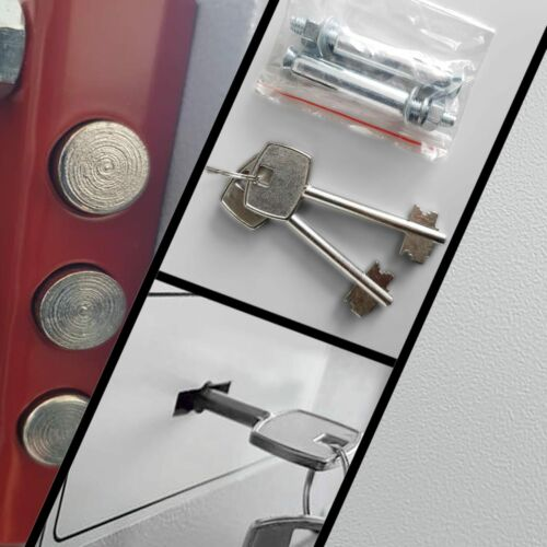 TresorDefenderDoppelbolzen-Schließsystem3 GrößenRobustes Gehäuse TOP