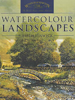 Winsor and Newton Watercolour Landscapes-ExLibrary