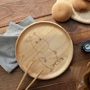... Moomin-wood-plate-wooden-serving-plate-breakfast-food- & Moomin wood plate wooden serving plate breakfast food plates Tea ...