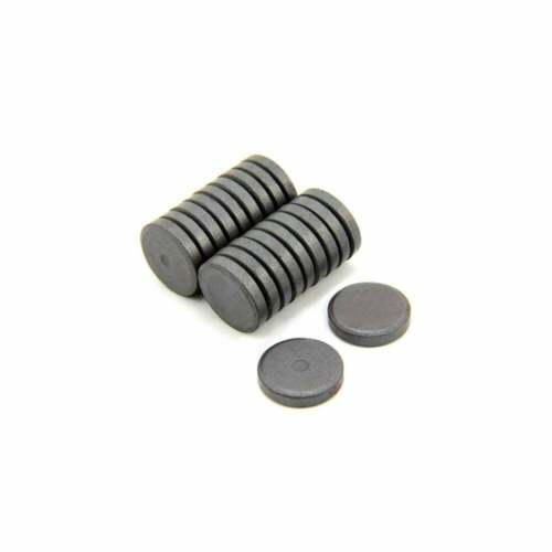 Pack of 400 0.6kg Pull 25mm dia x 5mm thick Y10 Ferrite Magnet