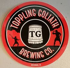 """TOPPLING GOLIATH King Pseudo Sue 2.5/"""" STICKER decal craft beer brewery brewing"""