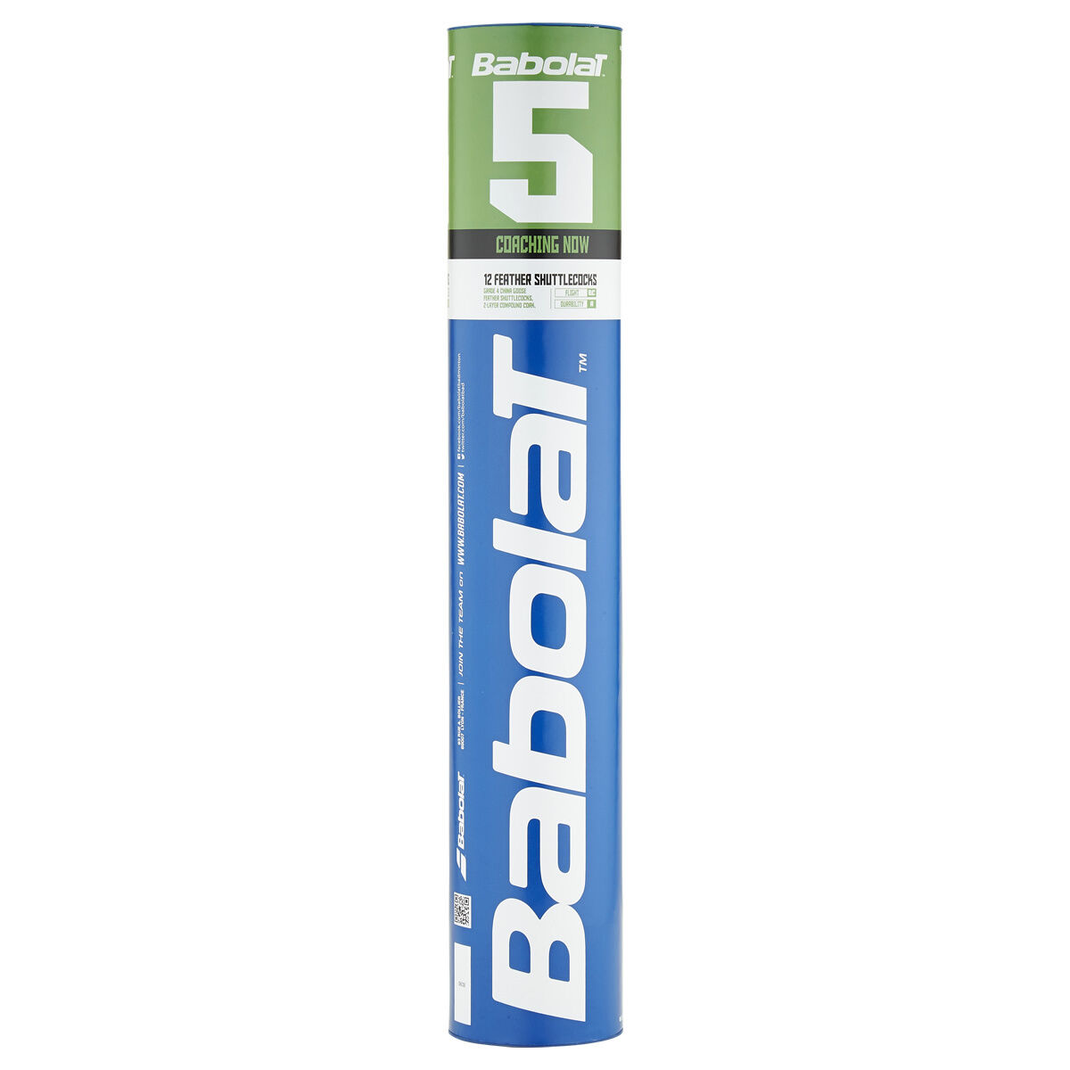 BABOLAT Feather 5 Naturfederbälle (5 Rollen) Badmintonball Federball -NEU- -NEU- -NEU- 4ed59e