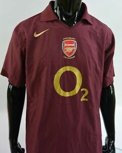 sports shoes 5ddb1 f0024 Details about GUNNERS SHIRT HIGHBURY 1913-2006 NIKE Arsenal FC Player Issue  JERSEY SIZE L