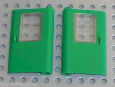 Portes LEGO TRAIN green doors ref 4181 & 4182 / Set 7898 & 4552  Cargo Crane