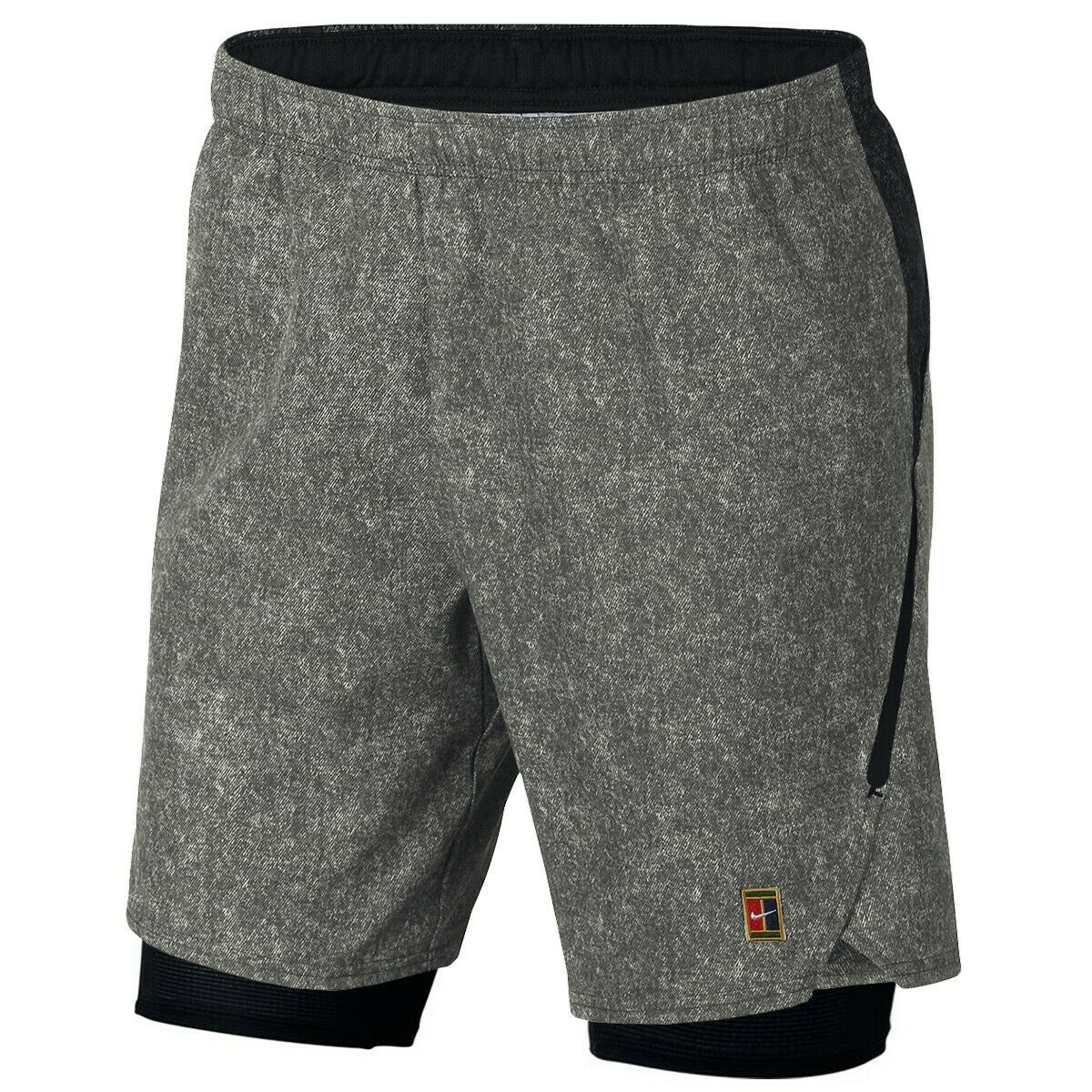 Nike Flex court shorts Ace Pro 2 in 1 Model Agassi Talla M