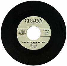"""BETTY JAMES  """"HELP ME TO FIND MY LOVE""""    BLUES   LISTEN!"""