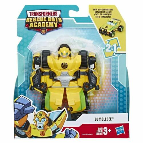 Playskool Transformers Rescue Bots Academy Bumblebee to Rock Crawler E5691