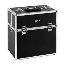 Geko Black Vanity Case Makeup Box Organise Carry Brushes Varnish Make Up Kit D03