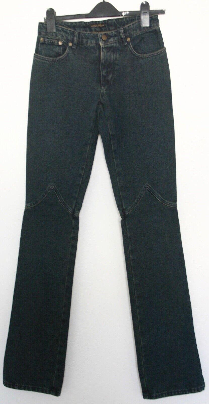 DONNA STRENESSE Pantaloni Jeans Blu Wash Out Taglia 34