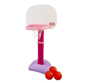 Toy-Basketball-Set-Little-Tikes-Play-Kids-Ball-Easy-Score-Hoop-Adjustable-Sport