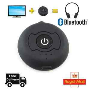 36b6888b668 Image is loading Bluetooth-Transmitter-Audio-4-0-H366T-Wireless-Adapter-