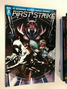 IDW FIRST STRIKE #2 RI-C COVER : NM CONDITION