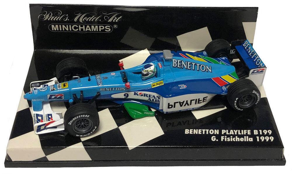 Miglior prezzo Minichamps BENETTON PLAYLIFE B199 1999-Gianautolo Fisichella 1 43 SCALA SCALA SCALA  rivenditori online