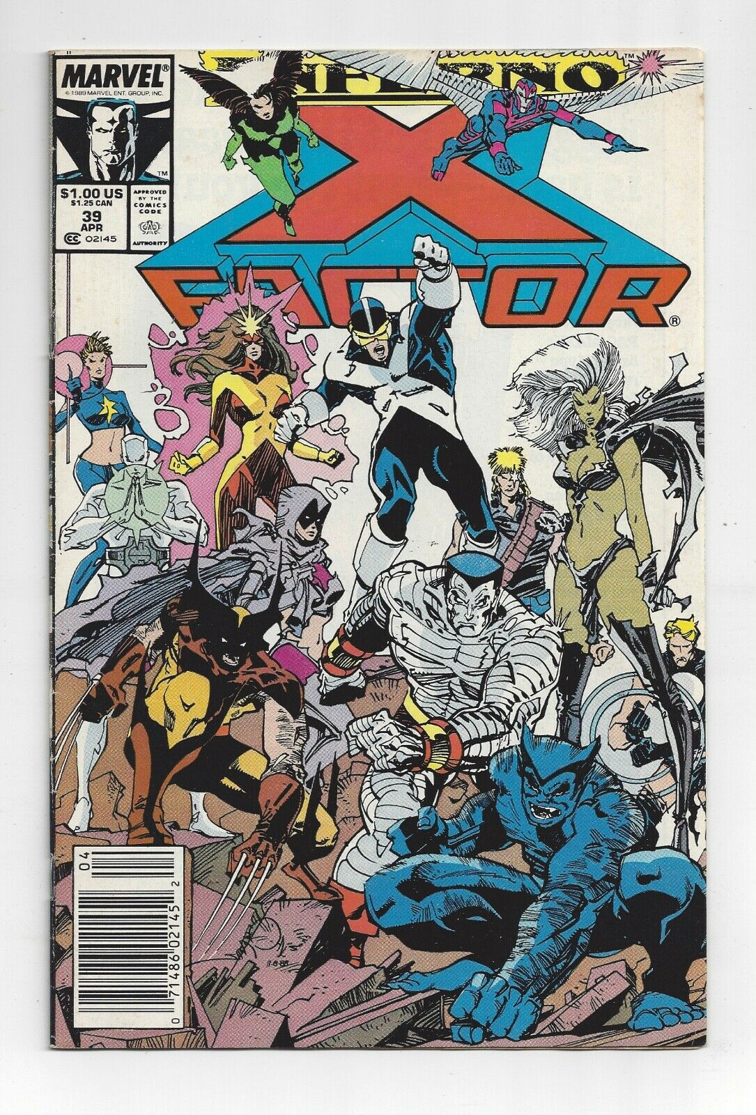 Apr 89, Marvel X Factor #39 April 1989  X-Factor