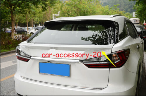 Rear Trunk Pressure Tail Wing Spoiler For Lexus RX350 450h 2016-2020 unpainted