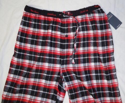 Men/'s Flannel Lounge Pants NWT Perry Ellis