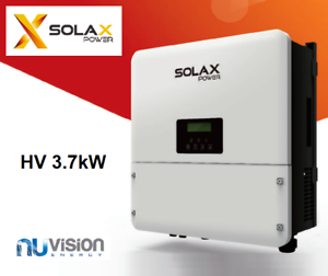 Details about SolaX X1 Hybrid 1 Phase Inverter HV 3 7kW 10 Years Warranty  Battery Storage