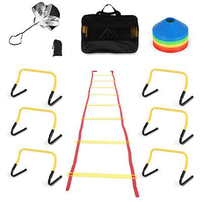 Professional Sports Fitness Training Equipment Speed /& Agility Kit Combo Set