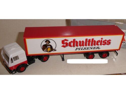 """embalaje original 1:87 nuevo Albedo colección MB SZ /""""Schultheiss/"""""""