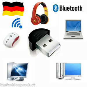 mini bluetooth usb dongle adapter sender empf nger receiver edr f r pc windows ebay. Black Bedroom Furniture Sets. Home Design Ideas
