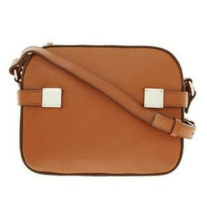 b510fde2f85f Image is loading PAUL-COSTELLOE-Tanned-Brown-Leather-Xbody-Bag-Great-