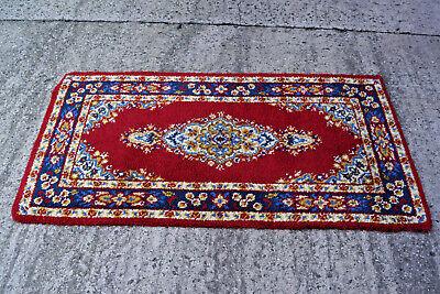 60er Teppich Orientteppich Carpet Rug Shag (94 X 175) 70er Belebende Durchblutung Und Schmerzen Stoppen