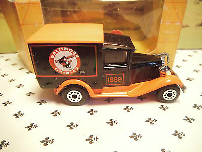 Matchbox Model Mb38 Baltimore 1989 Brown Van Orange Roof Oo ? Scale Sconto Complessivo Della Vendita 50-70%