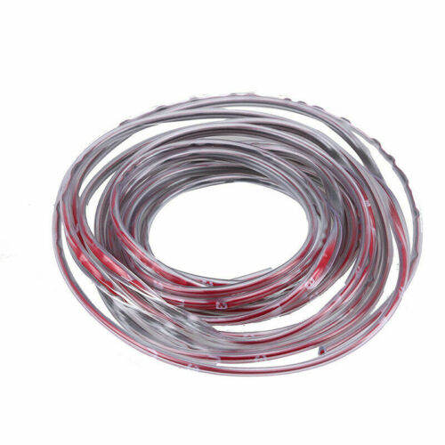 5M Car Door Edge Guard Protector Rubber Moulding Trim Strip DIY Flexible Clear