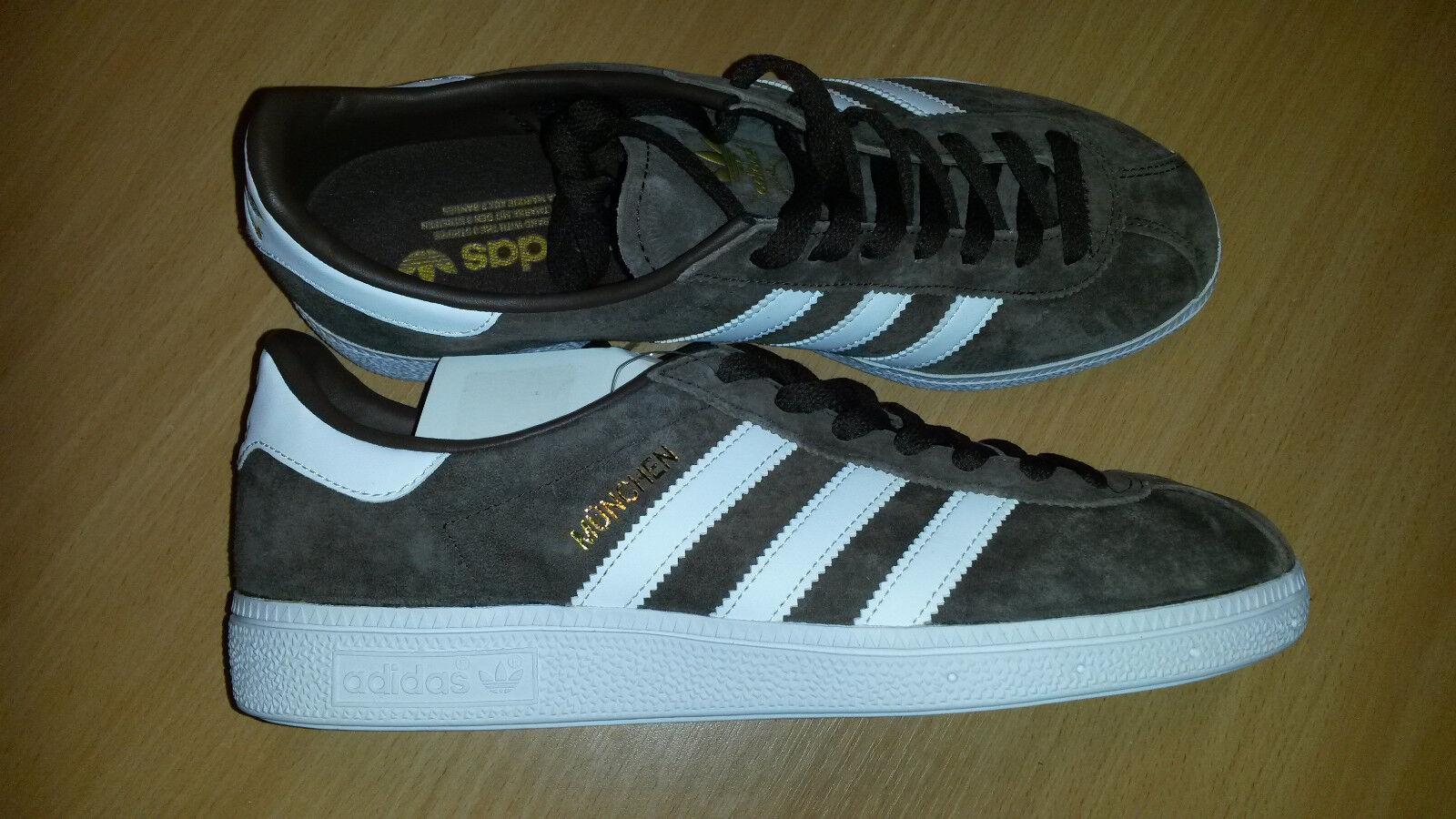 Adidas Originals Weiß, Munchen BY1722 mens trainers Braun Weiß, Originals Größe uk 7 46b31c