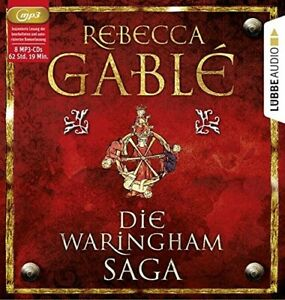 REBECCA-GABLE-DIE-WARINGHAM-SAGA-8-MP3-CD-NEW