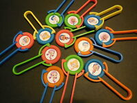 12 Bubble Guppies Disk Shooters Birthday Party Favor Treat, Awards, Goodie Bags