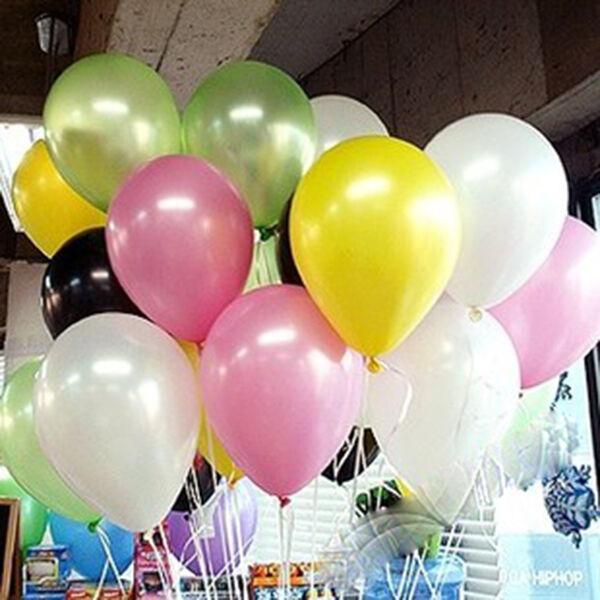 11 colors helium latex balloon birthday party wedding anniversary decoration