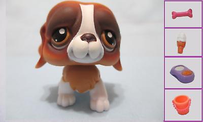 Littlest Pet Shop Dog Dalmatian 2136 w Free Accessory Authentic Lps