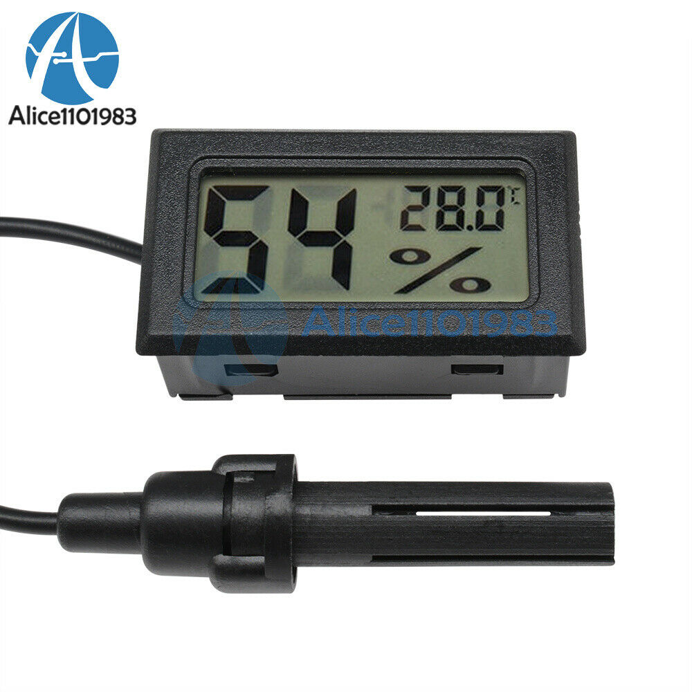 1/2/5/10PCS Mini Digital LCD Thermometer Hygrometer Humidity Temperature Meter