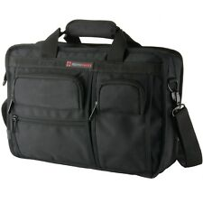 Alpine Swiss Conrad Messenger Bag 15.6 Inch Laptop Briefcases with Tablet Sleeve