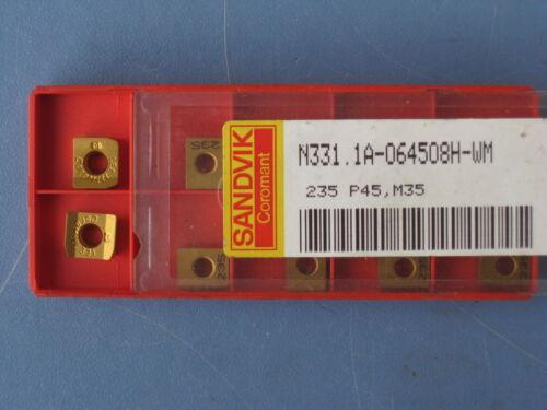 10 Wendeplatten    N331.1A-064508H WM       235      Sandvik      3959