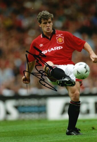 Mark Hughes Signed 12X8 Photo Manchester United AFTAL COA 9083