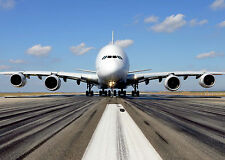 """24"""" x 36"""" Poster AIRBUS A380 Airliner Airplane Transport"""