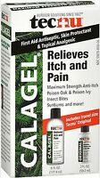 Calagel Max Strength Anti-itch Gel Poison Ivy, Oak, Bites- 6 Oz + Bonus Tecnu