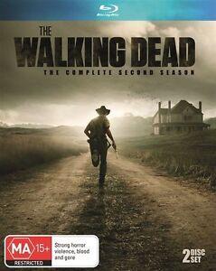 Walking-Dead-Season-2-SERIES-TWO-Blu-ray-2-Disc-Set-BLU-RAY-REGION-B-AUST