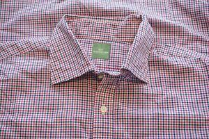 Sid-Mashburn-Pink-Blue-White-Gingham-Check-Plaid-Button-Up-Shirt-Sz-M