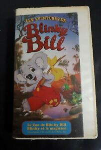The-Adventures-Of-Blinky-Bill-VHS-Tapes-French-Version-OOP-cartoon-Tv-Show