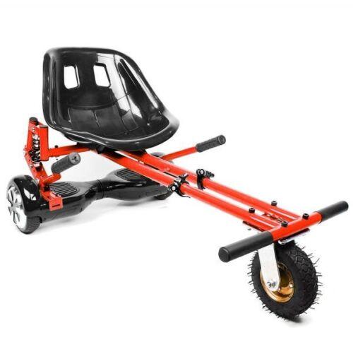 Rouge Suspension hoverkart convertir Hoverboard dans Karts