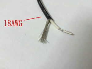 PVC Cable 300V  80°c 10M 1 Reel 2CORE 22AWG BLACK CABLE