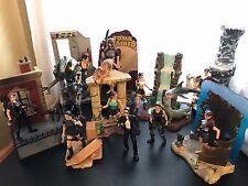 Lara Croft: Tomb Raider Action Figure Lot - 10+ Figures