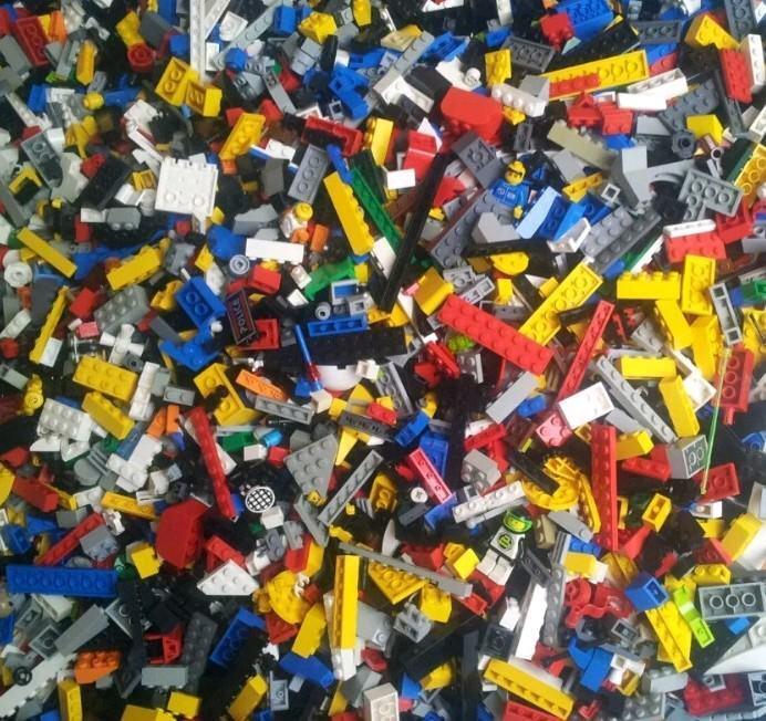 Genuine Lego 0.5 kg 500 G G G mixta 1 Bolsa ladrillos Lego Lote a granel de partes piezas conjunto de trabajo fdfb95